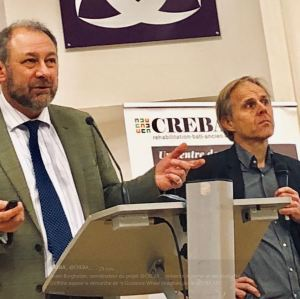 Nigel Griffiths-STBA et Hans Valkoff LRA ENSA TOULOUSE
